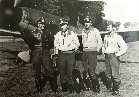 Deutsche Luftwaffe Ritterkreuz 1944 Ostfront
