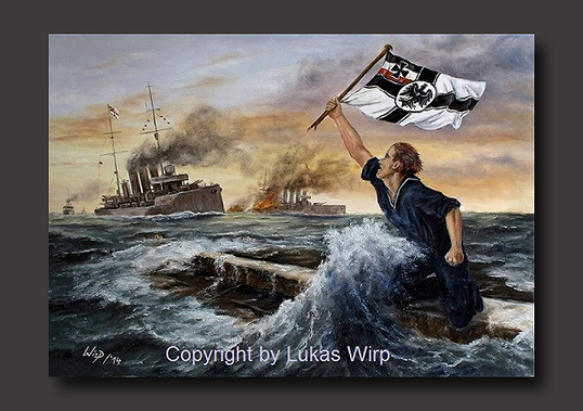 World War 1 navy combat battle Lukas Wirp