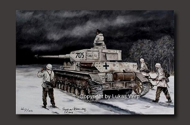 Waffen SS Laibstandarte 2nd World War WW2 poster art Lukas Wirp