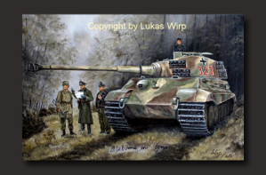 military, art, paintings, poster, print, canvas, Lukas wirp, tanks