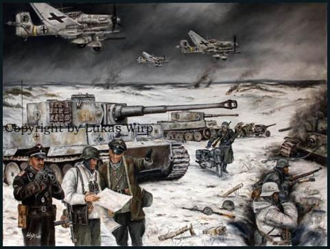 Wittmann, tank, battle, russia, combat