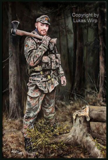 soldier,portrait,painting