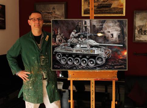 Military, art, paintings